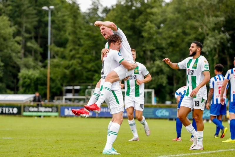 FC Groningen wint van SC Heerenveen in oefenduel