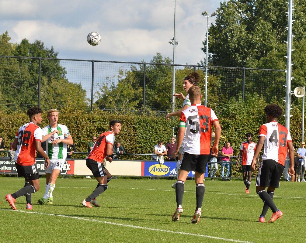 FC Groningen o21 wint in blessuretijd van Feyenoord o21