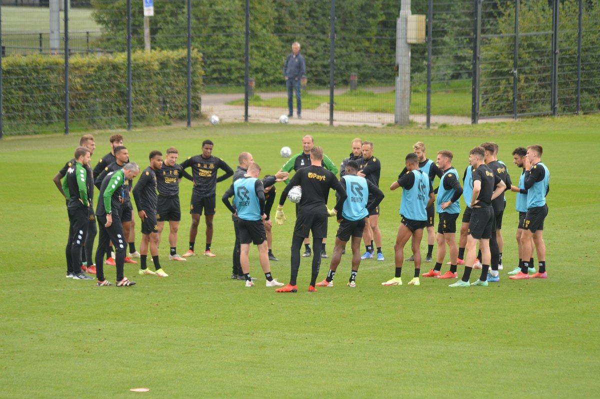 Training FC Groningen op dinsdag 21 september 2021