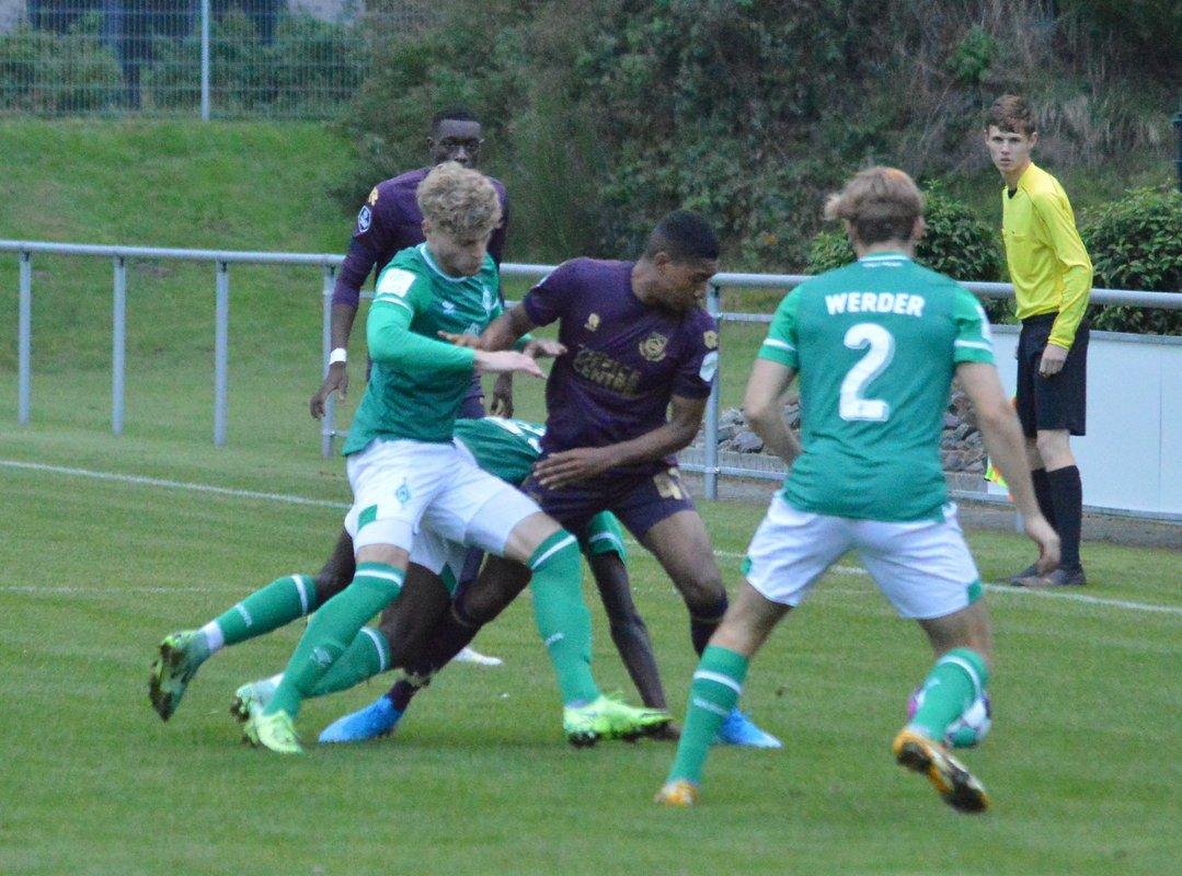 Jeugd combinatieteam FC Groningen wint van idem van Werder Bremen