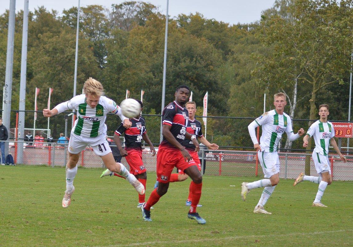 FC Groningen o21 wint verdiend van FC Twente/Heracles o21